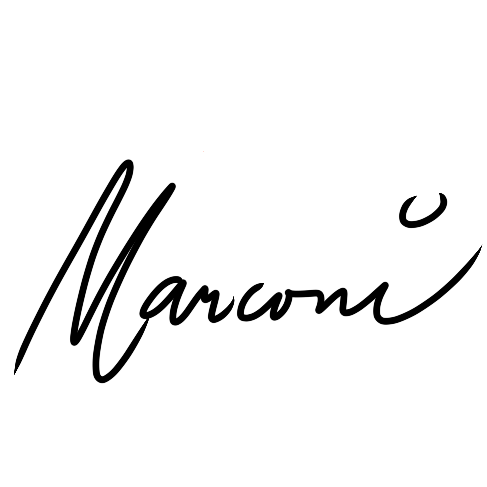 Marconi Calindas's Signature