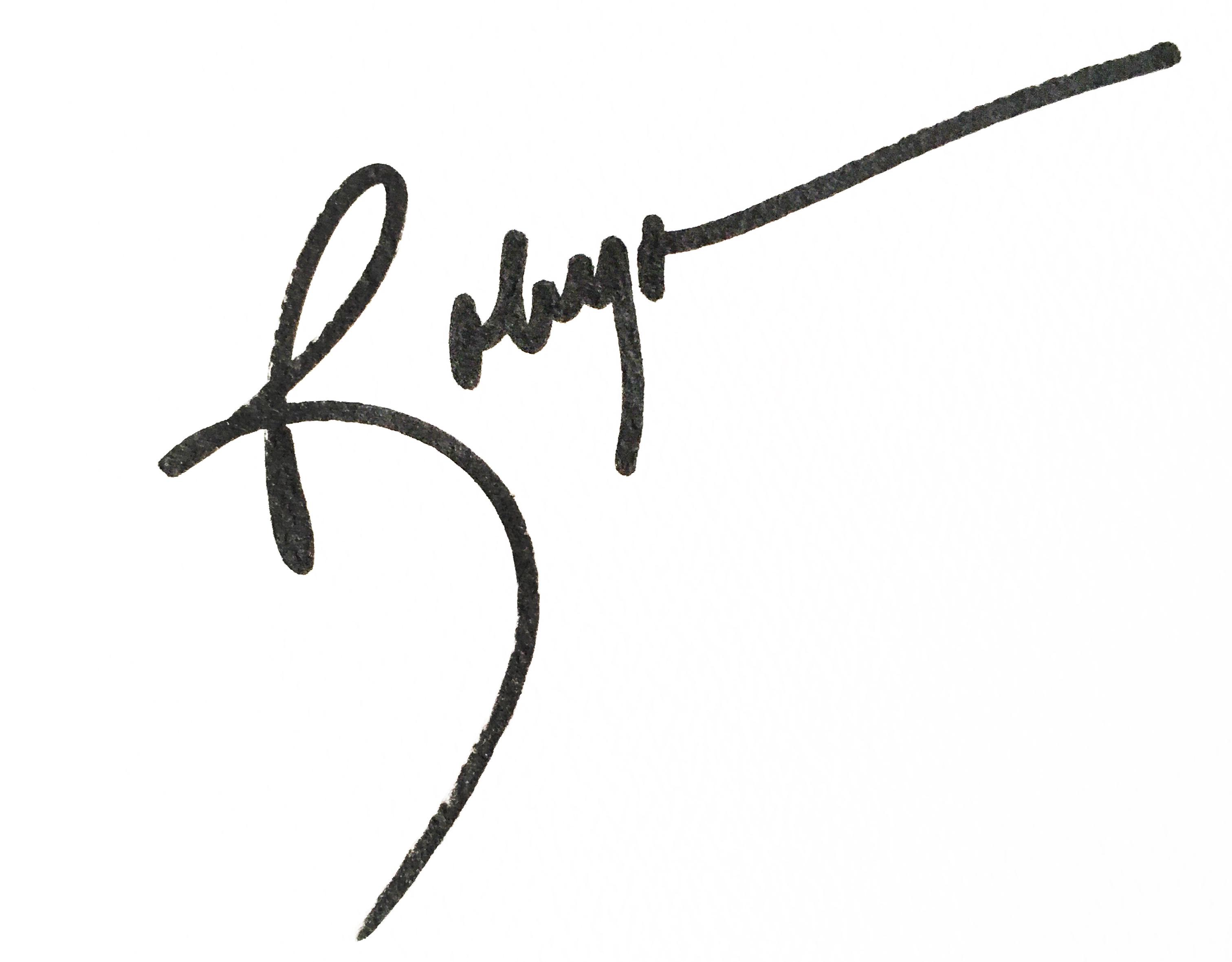 Robyn Mcclendon's Signature