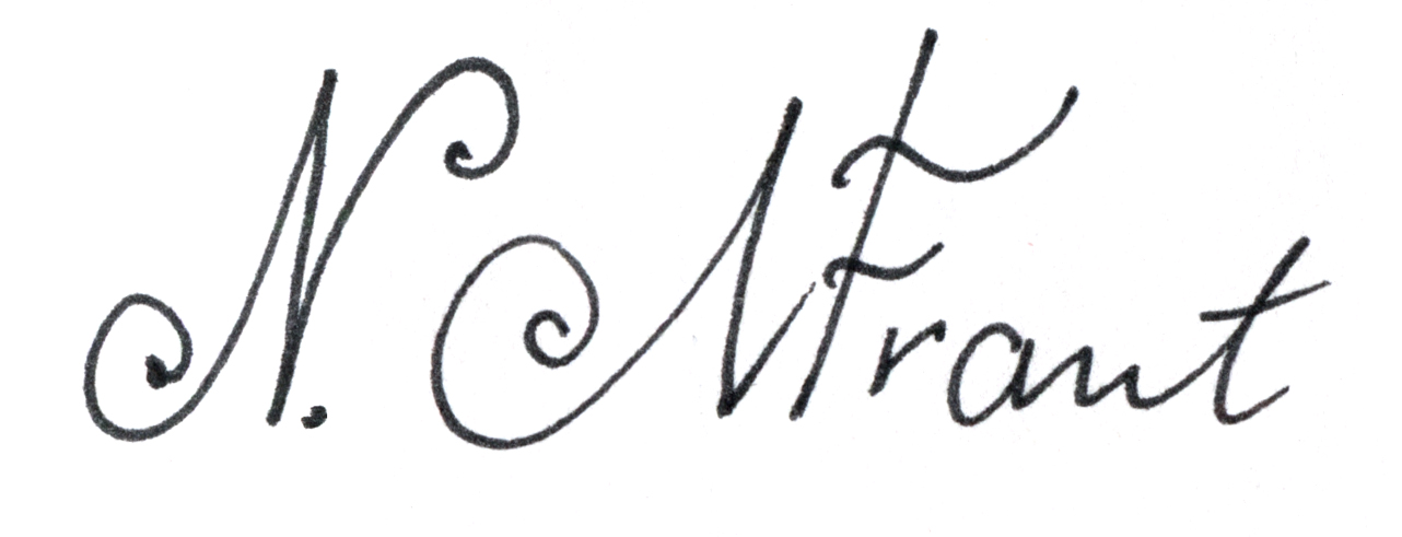 Nadia Mytnik-Frantova's Signature