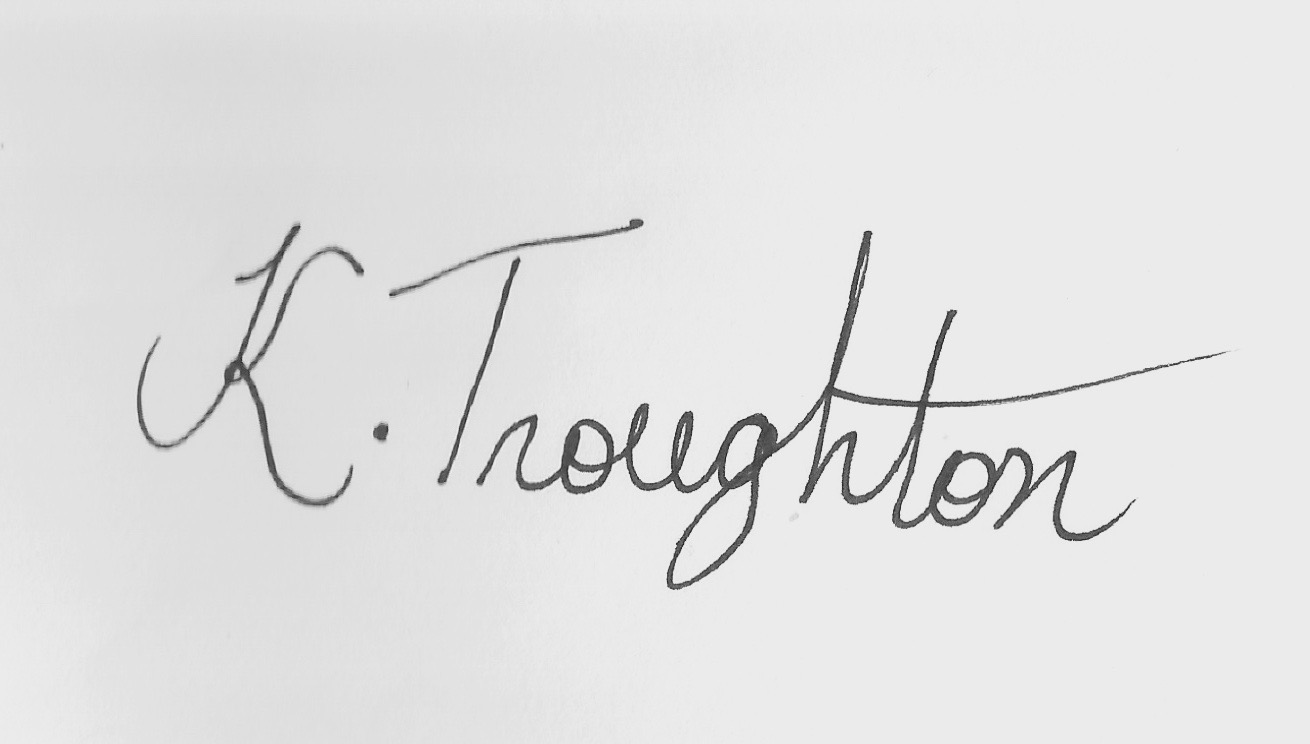 Kosana Troughton's Signature