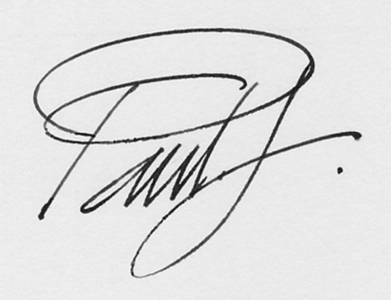 paul freeman's Signature