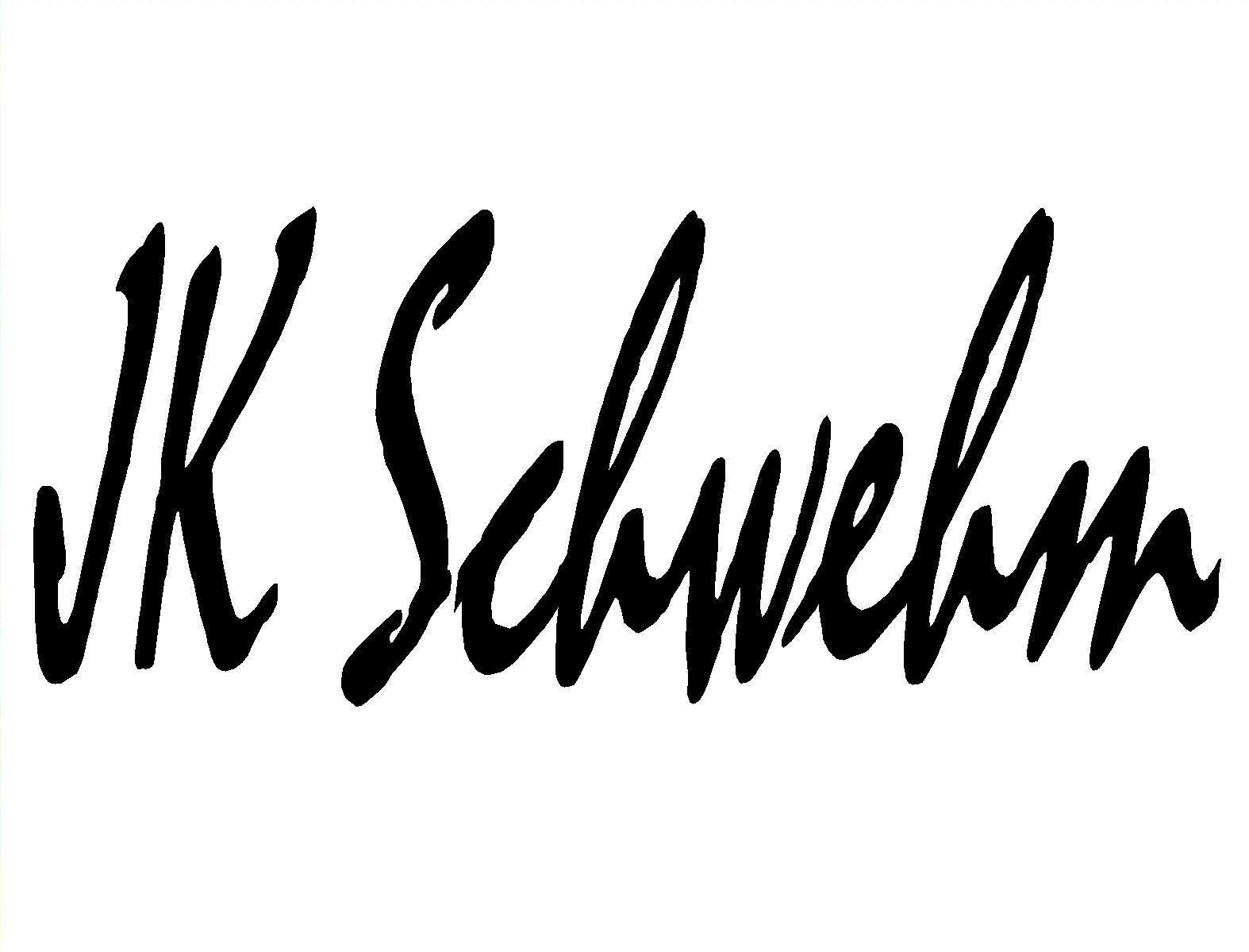 JK Schwehm's Signature