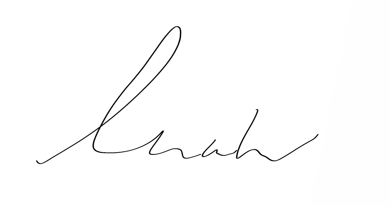 Keanne van de Kreeke's Signature