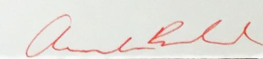 Amanda Bedard's Signature