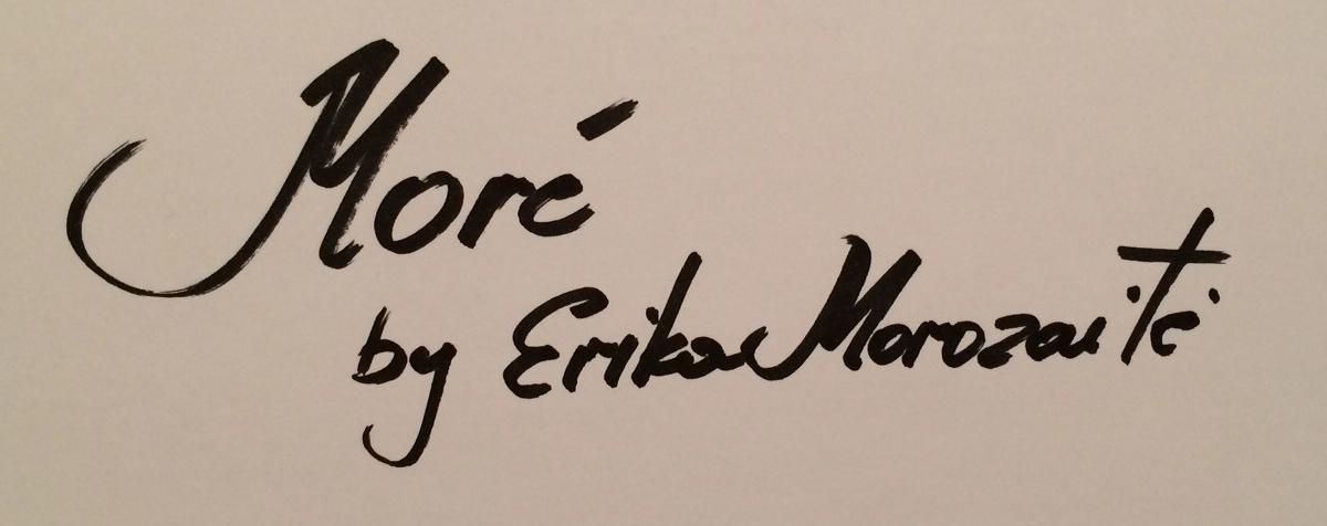 Erika Morozaite's Signature
