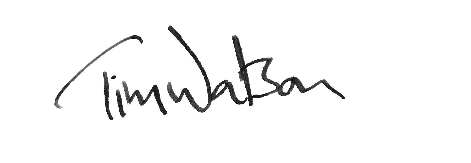 Tim Watson's Signature