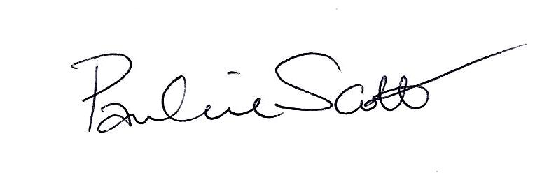 Pauline scott's Signature