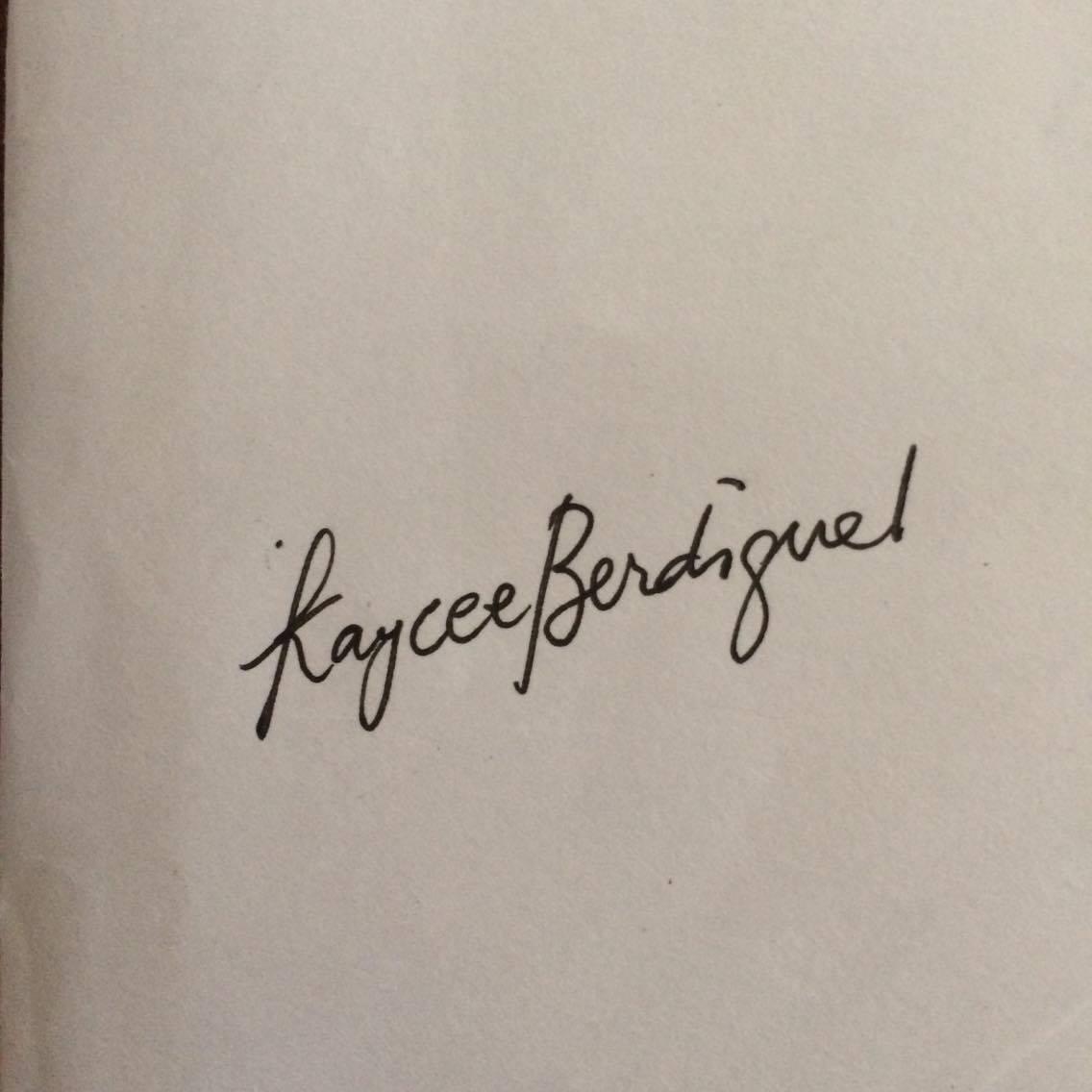 Kaycee Berdiguel's Signature
