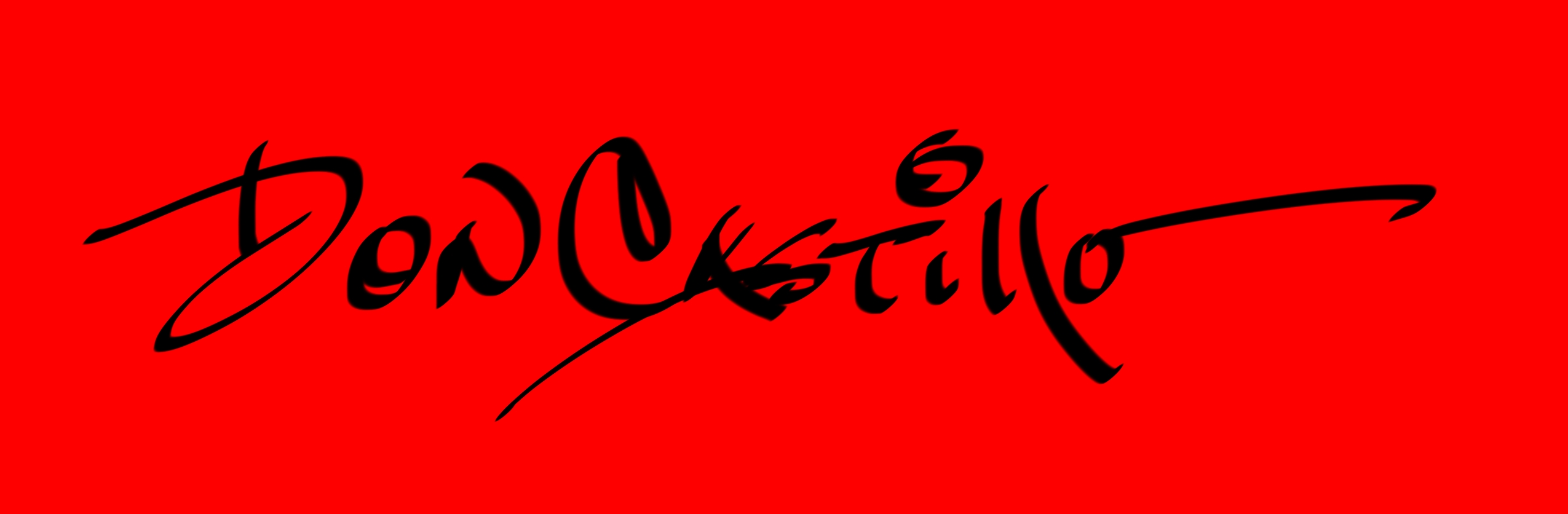 Don Castillo's Signature