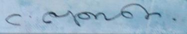 Lulu Dadiani's Signature