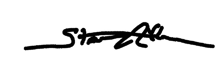 Stan Allen's Signature