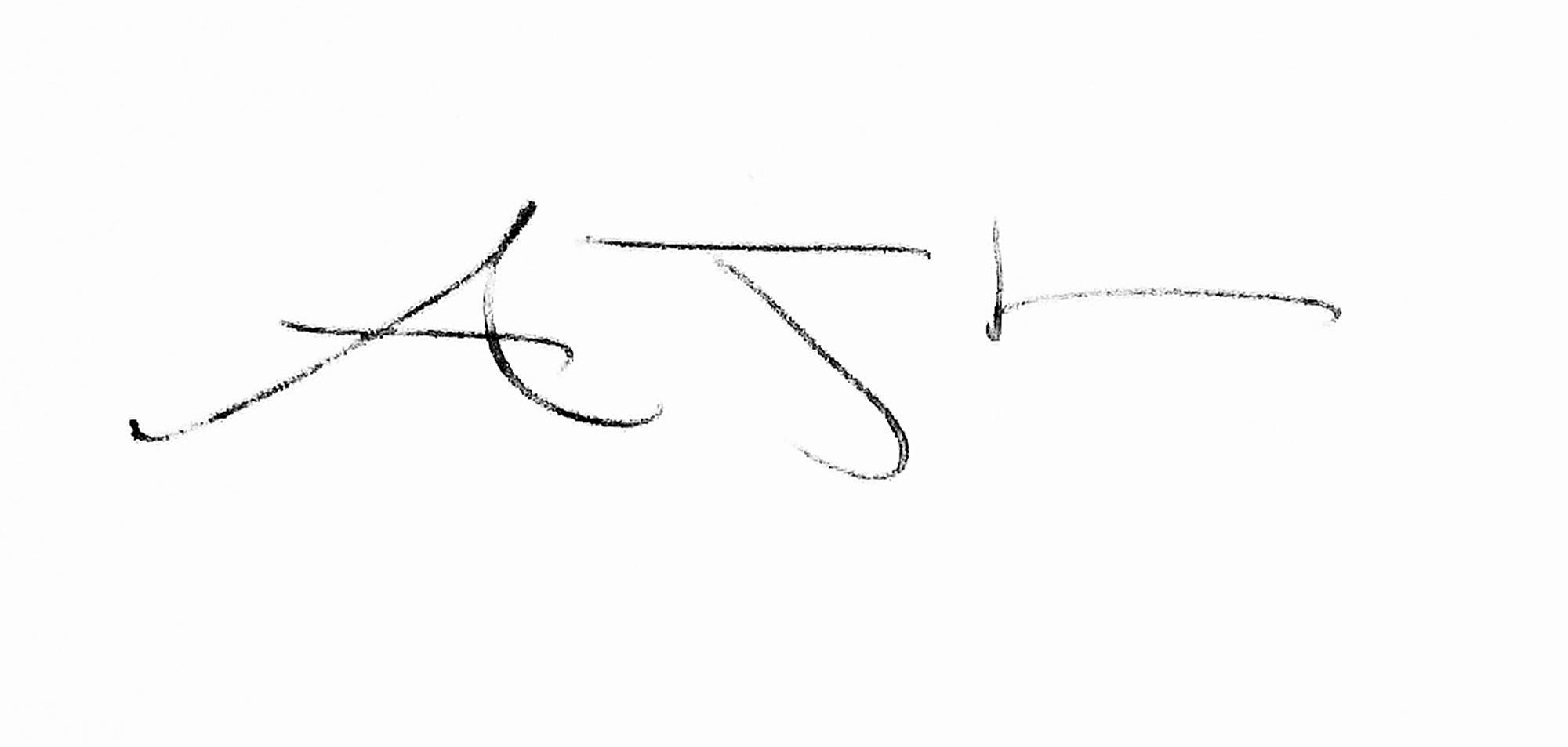 Andrew Lever's Signature