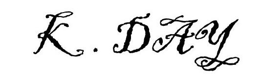 ken day's Signature