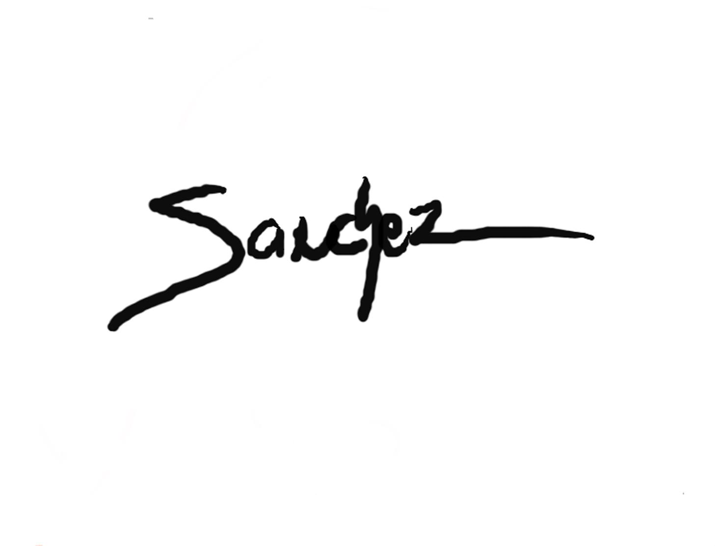 Juan Sanchez's Signature