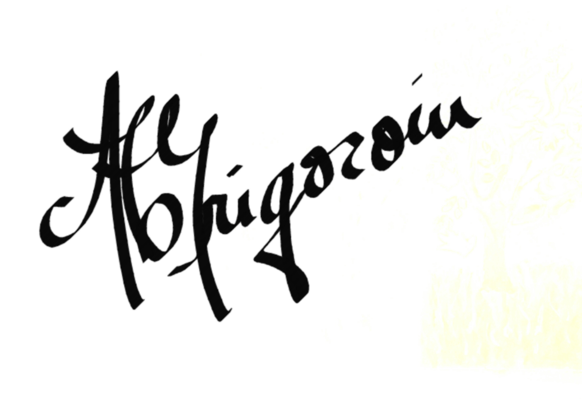 Ana Cristina Grigoroiu's Signature