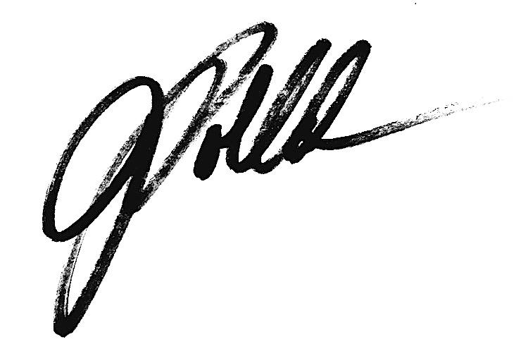 Joan Pollak's Signature