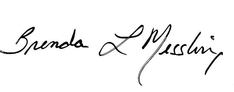 Brenda Messling's Signature