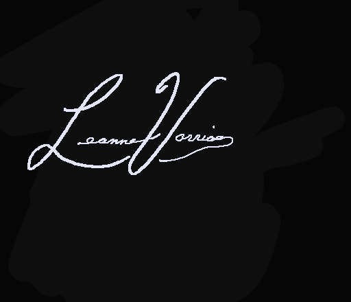 Leanne Vorrias's Signature