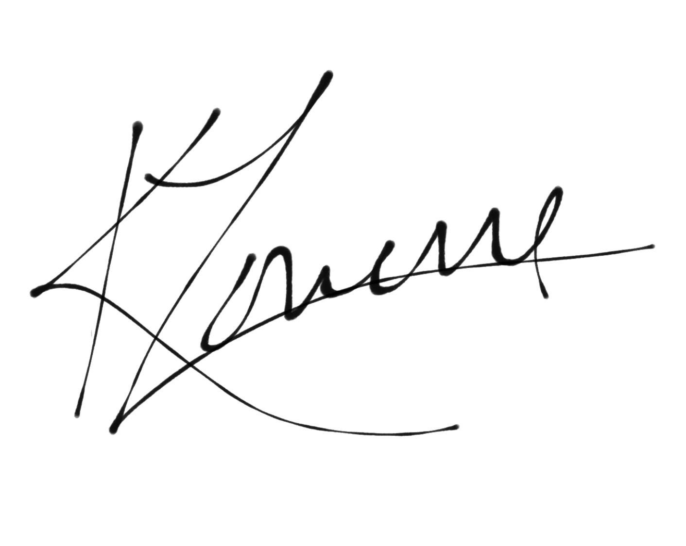 Kathleen Lowerre-poskitt's Signature