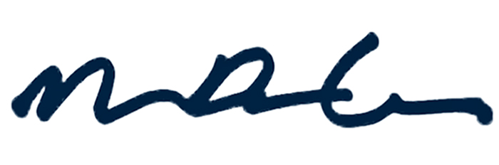 Michael Dalla Costa's Signature