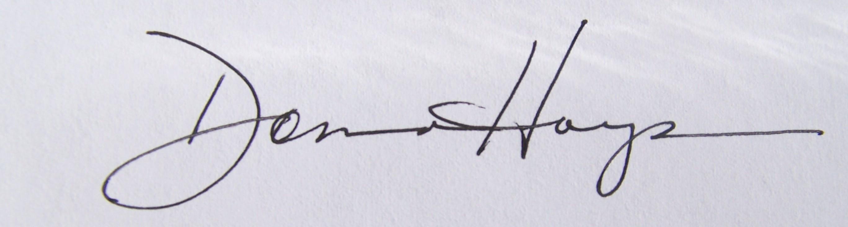 Donna Hays's Signature