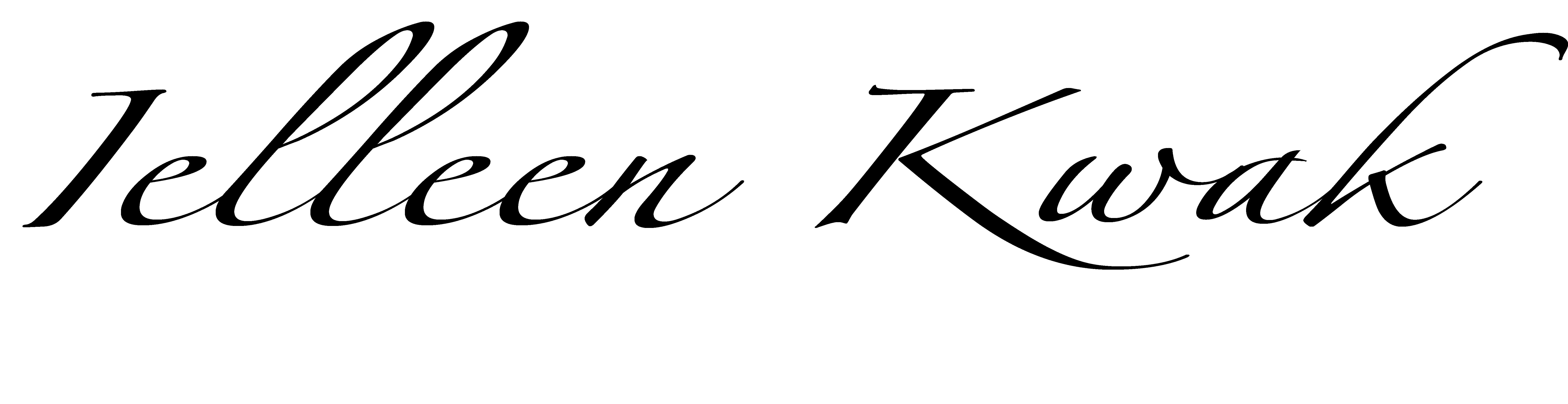 ielleen kwak's Signature