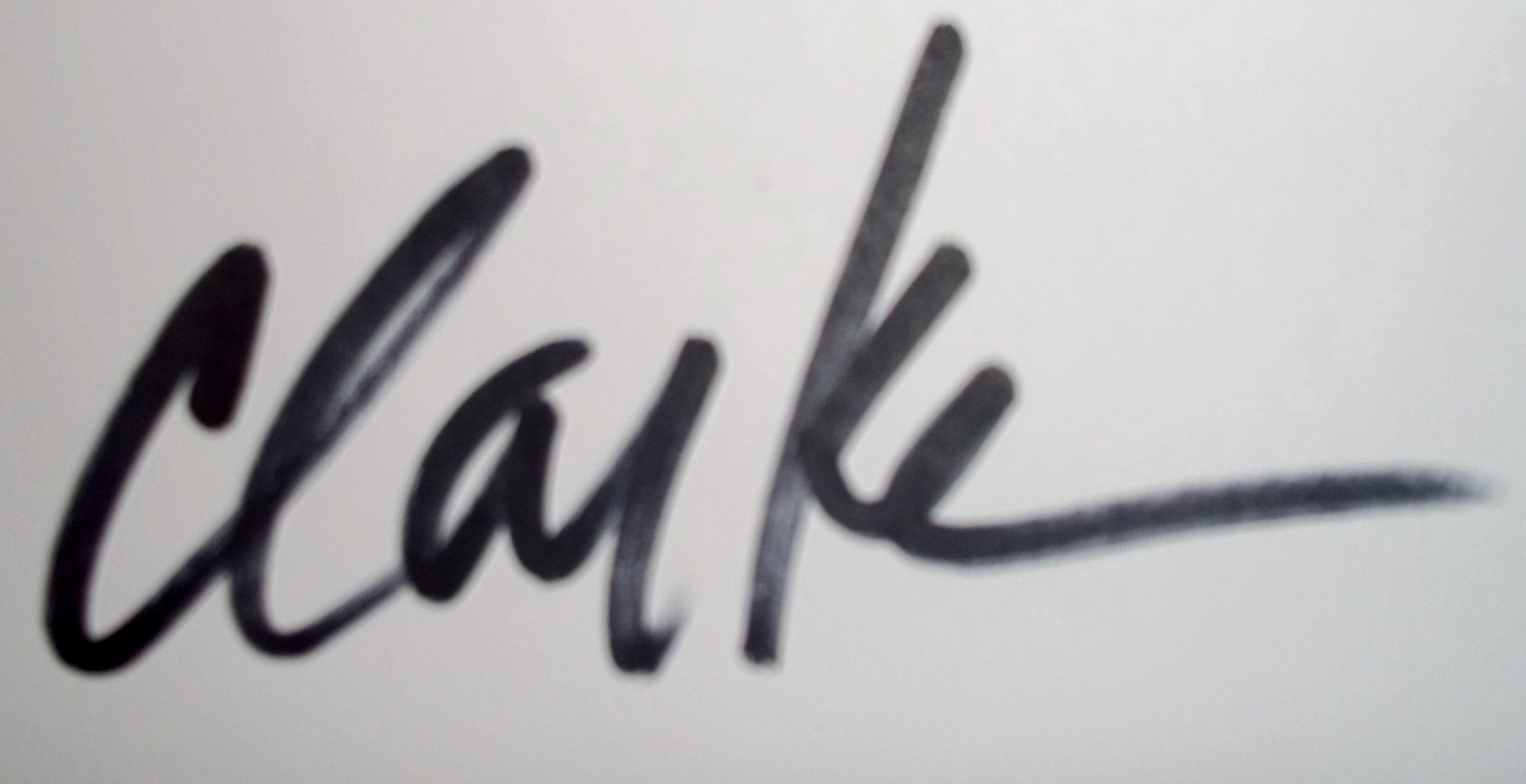Debbie Clarke's Signature