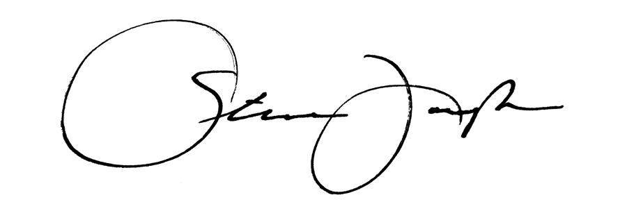 STEPHEN Joseph's Signature