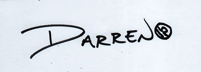 Darren Hill's Signature