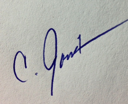 Cathy Jourdan's Signature