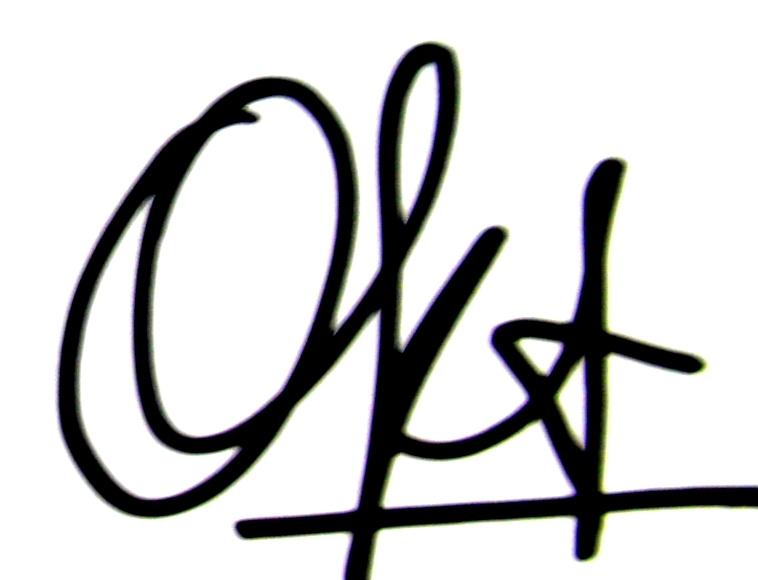 oktara bakara's Signature