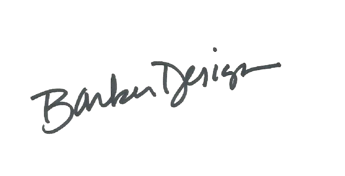 Donna Barker's Signature