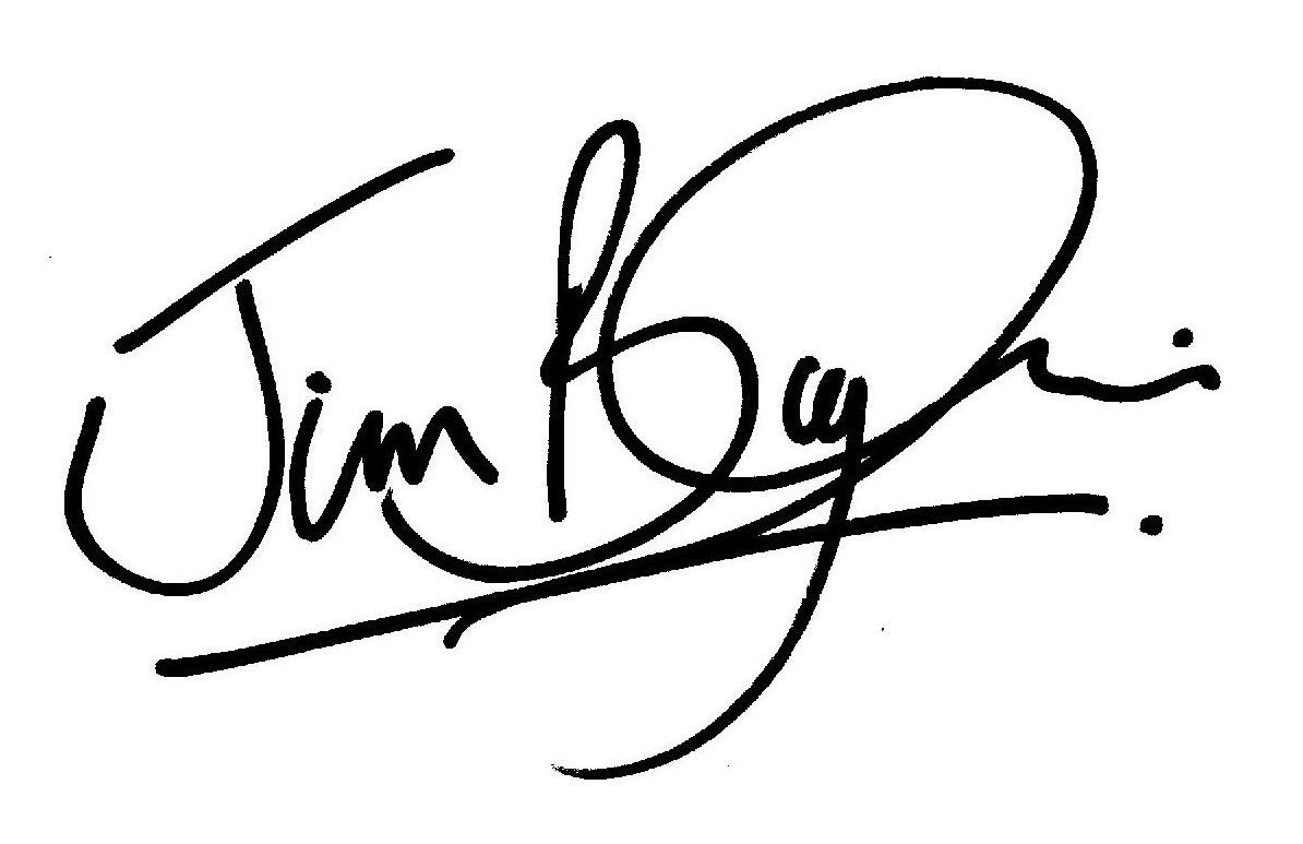 Jim Bayliss's Signature
