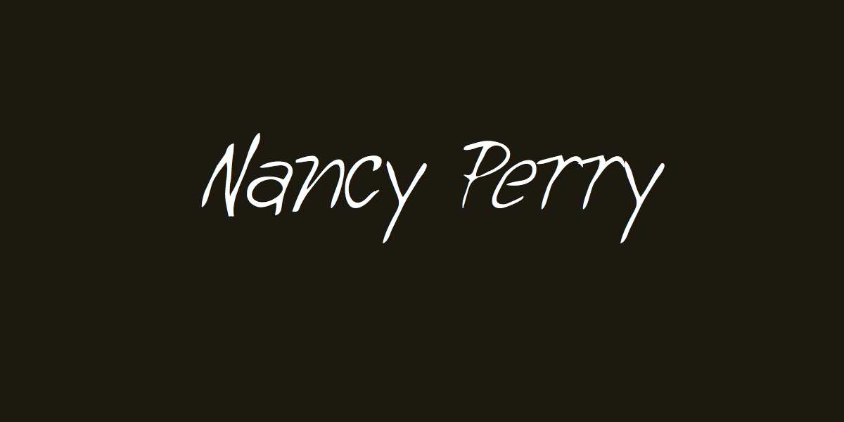 Nancy Perry's Signature
