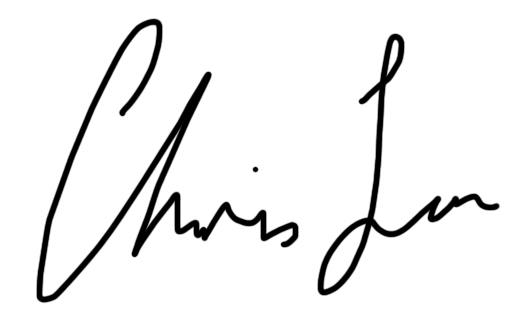 Chris Lau's Signature