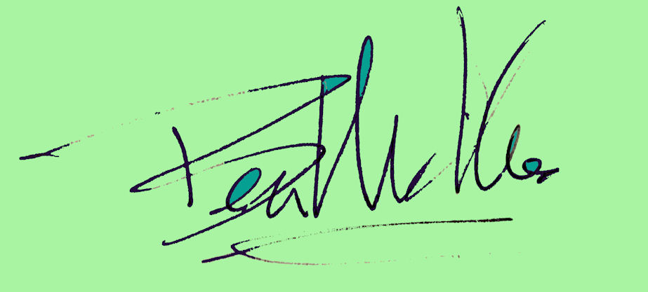 Ben Michalski's Signature