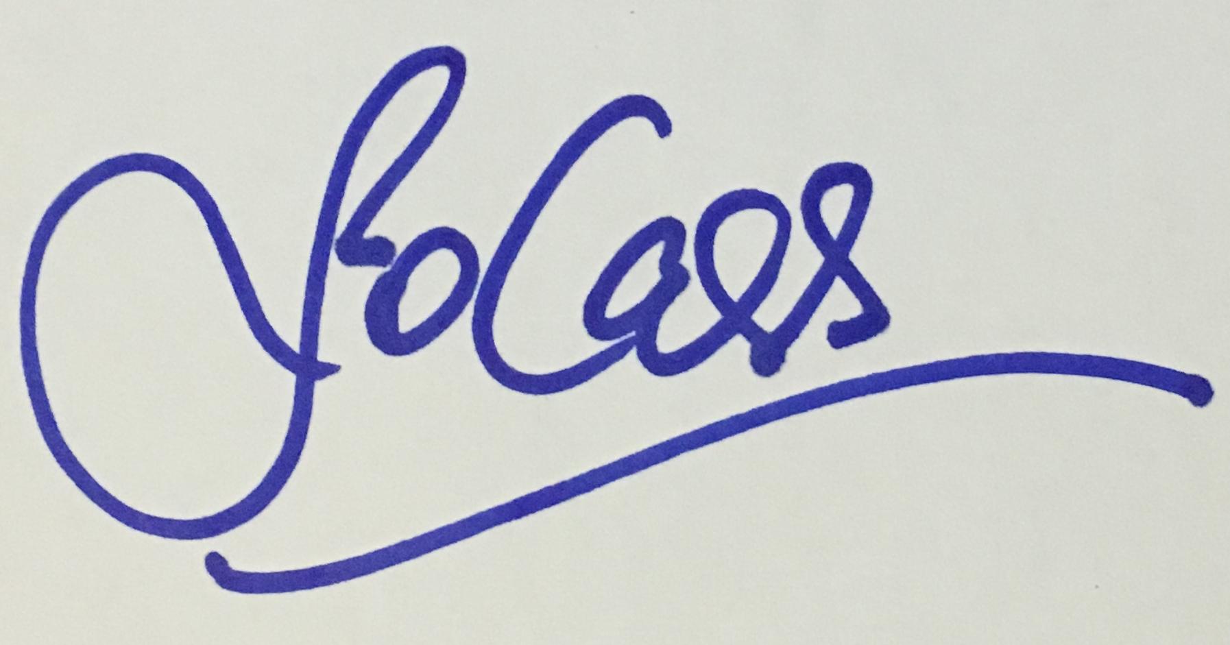 Jo Cass's Signature