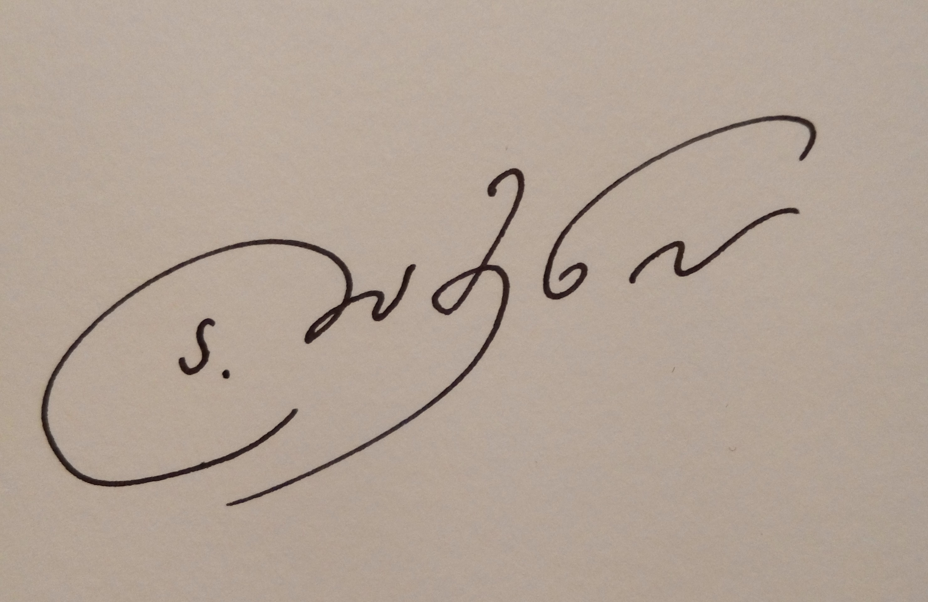Angelina Damenia's Signature