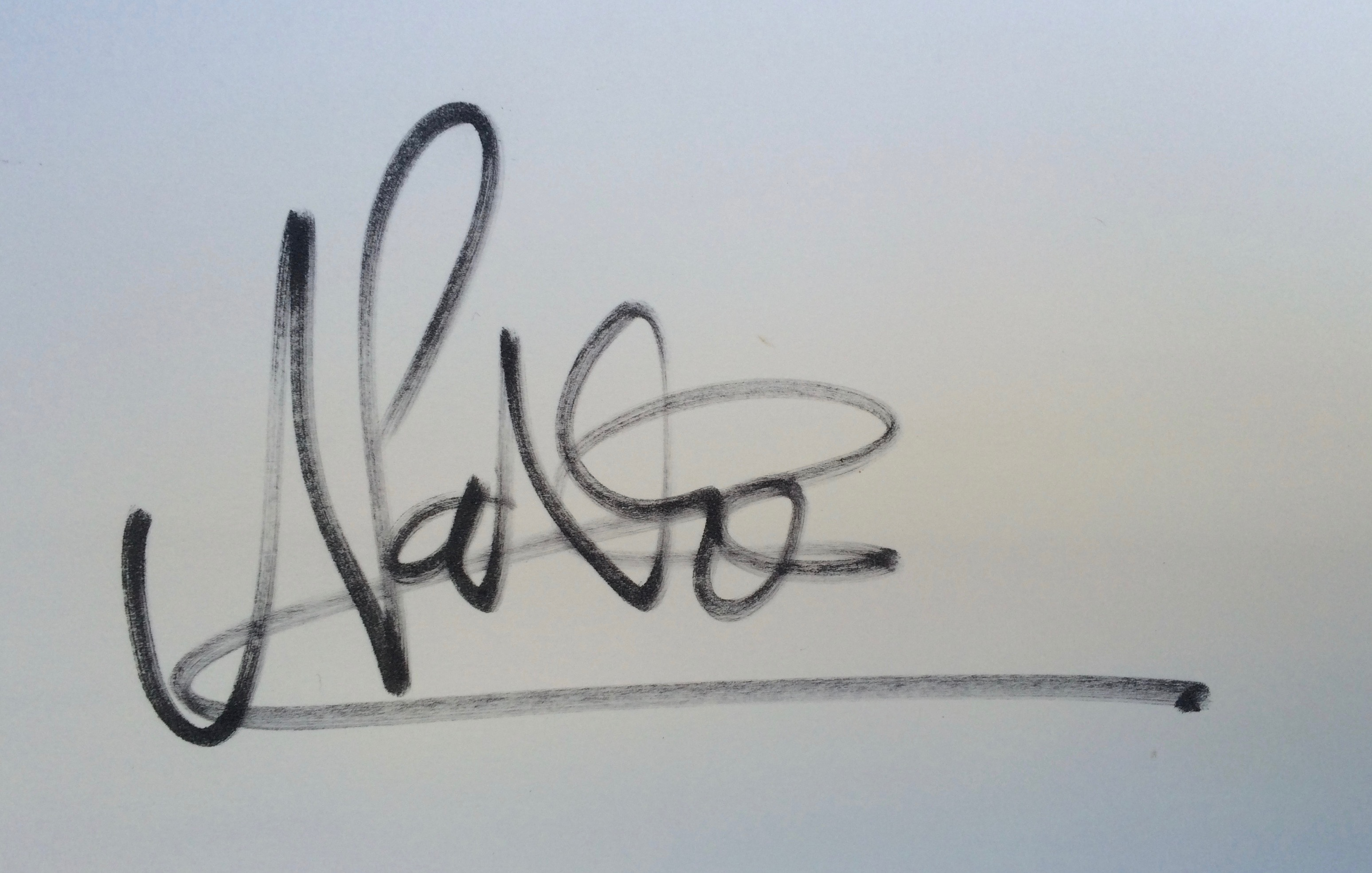 Nathan Huxtable's Signature