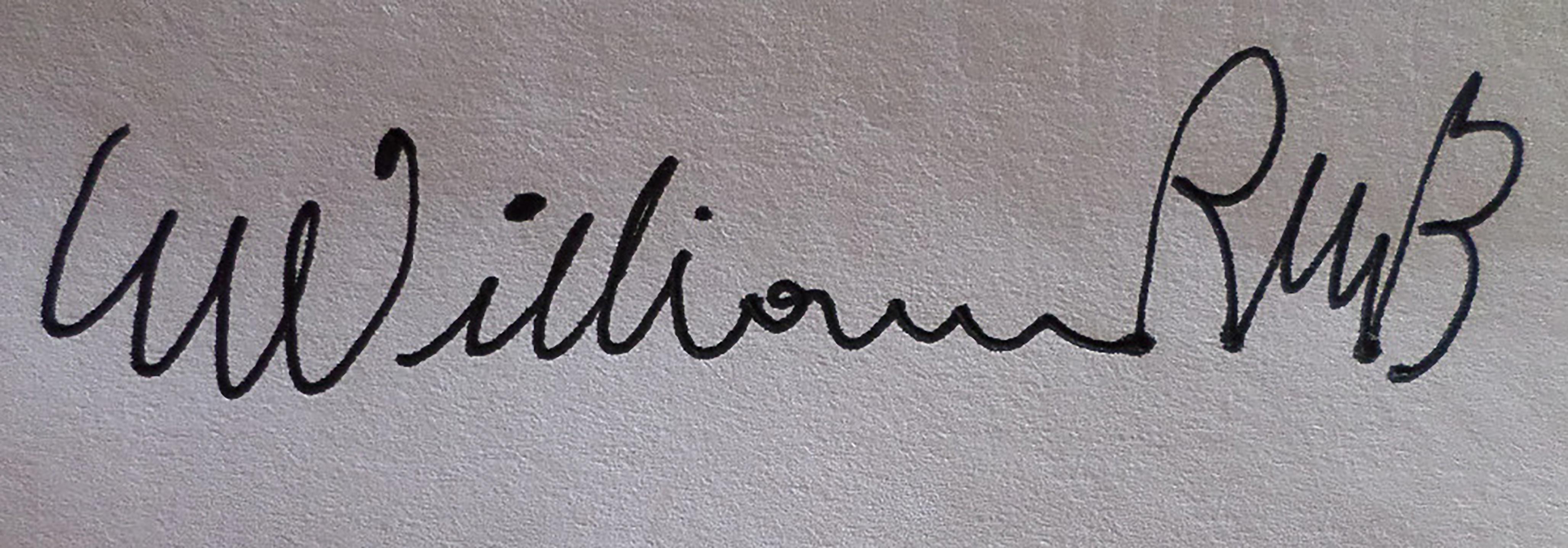 William Rafael Marquina Buitrago's Signature