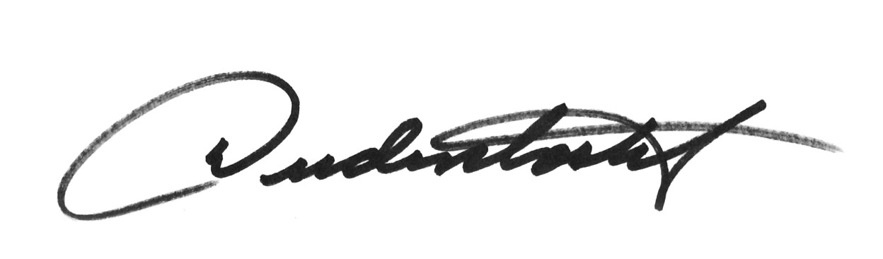 Don Dudenbostel's Signature