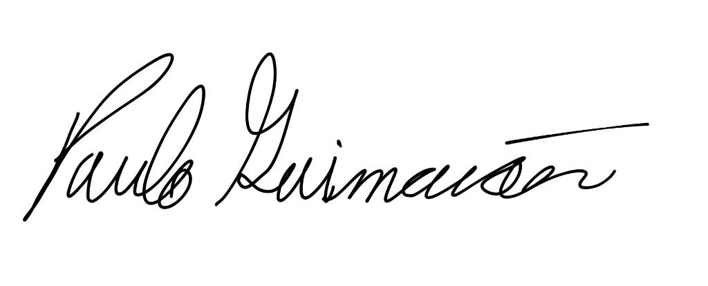 Paulo Guimaraes's Signature