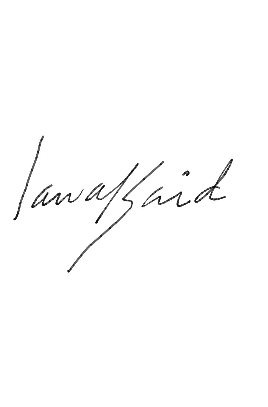 Said Oladejo-lawal's Signature