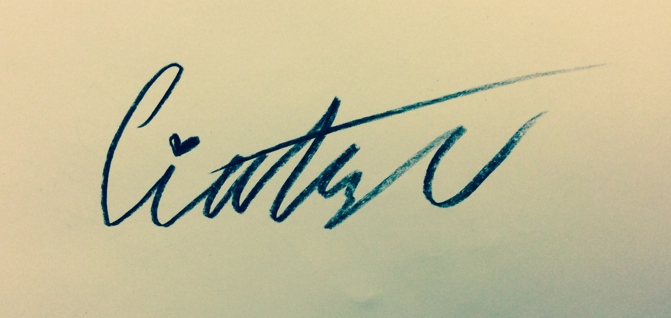 Giabella Taylor's Signature