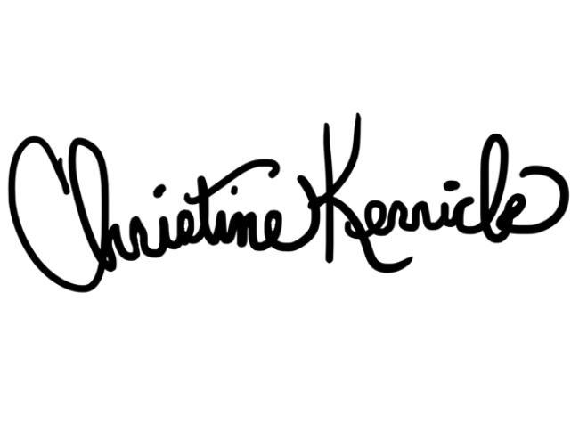 Christine Kerrick's Signature
