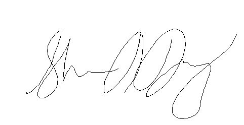 Sharon Daugherty's Signature