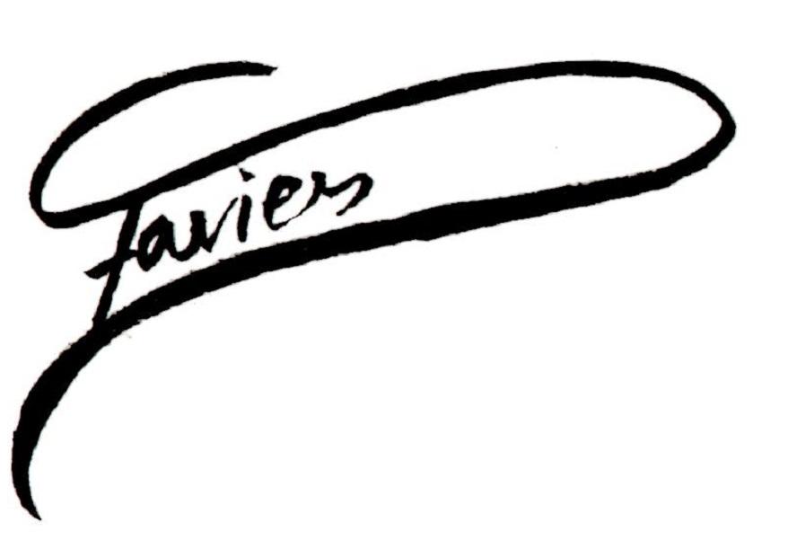 Fiona Davies's Signature