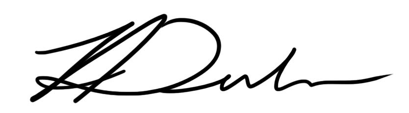 Alan Dubrovo's Signature