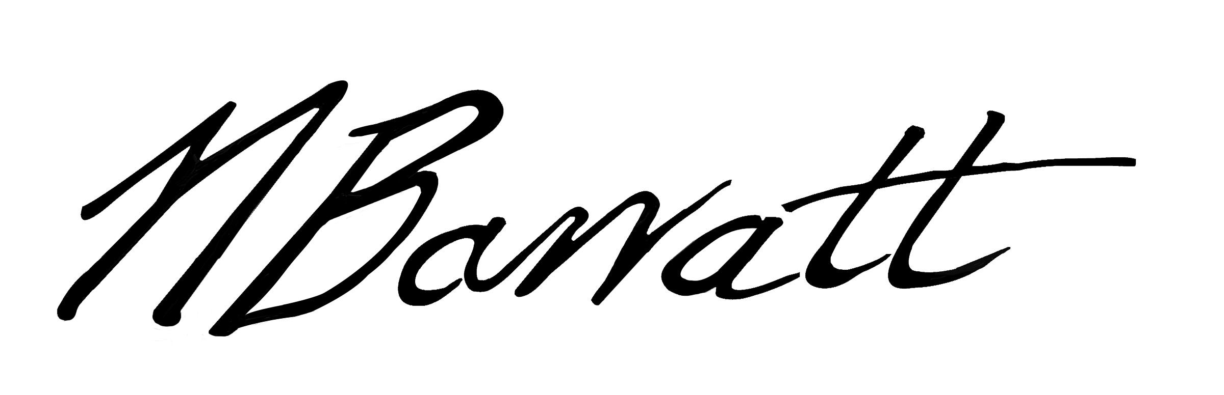 Nina Barratt's Signature