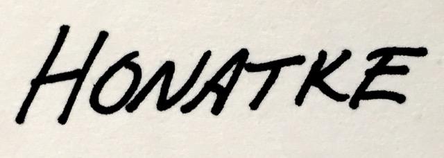 paul honatke's Signature